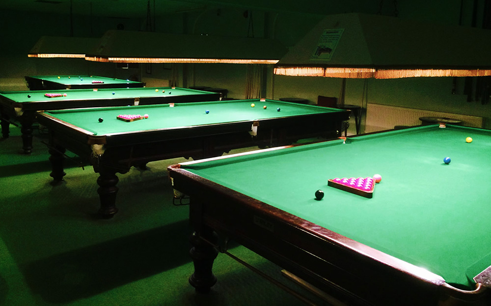 Snooker at The Windermere Club